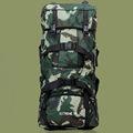 2014 venda quente 90l nylon militar mochila para caminhadas viajar