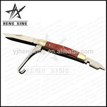 high quality rose wood handle catskill pocket knife