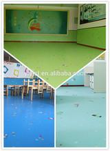 PVC commercial flooring / vinyl flooring roll used indoor for kindergarten