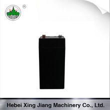 4V 4Ah sealed rechargeable lead acid battery for torch light