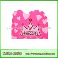 princesa de la muestra de feliz cumpleaños diseño de la tarjeta