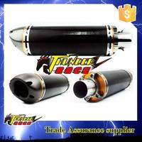 high quality real carbon fiber muffler
