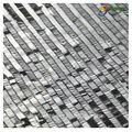 Fashion shiny silver design 2014 sequinpatch rideaux. guangzhou. en gros