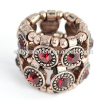 Fashion red stone ring finger rings women engagement rings