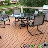 Outdoor leisure deck plastic plank