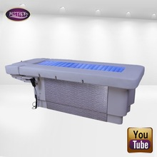 China manufacturer luxury 3 motor Electric water massage bed for salon furniture