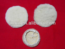 wool buffing pad auto polishing