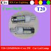 12SMD 5630+Cree 5W T20 Led Turn Light 12V for Automotive Cars