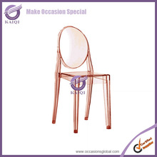 k2308 colorful custom design wholesale bulk event best quality crystal clear wedding victoria ghost chair