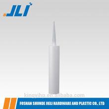 low price 300ml HDPE Plastic Silicone Sealant Cartridge