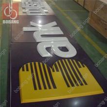 Customized Programmable Acrylic Led Luminous bank signage