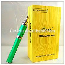 Deluxe V5 kit protable e-cigarette vaporizer pen ce portable electronic hookah cigarette