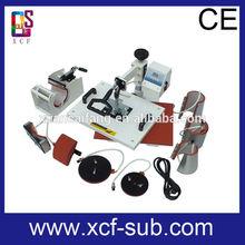 8 in 1 combo heat transfer press Machine XCF brand heat press machine