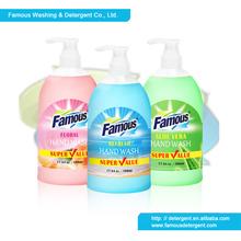 Famous 500ml hand soap liquid hand soap