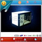 New transparent box player lcd supermarket advertising