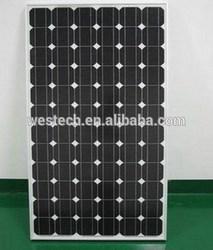 295W mono solar panel, 36V output, for 24V system