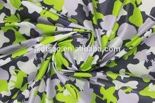 Polyester taslan printed camouflage fabric