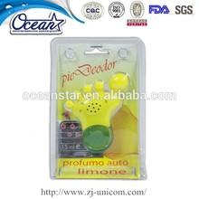 10ml car vent lemon car air freshener