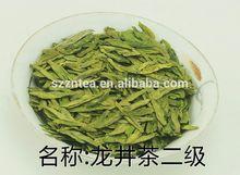 Bio-tee westsee longjing grüner tee, drachen und grüner tee