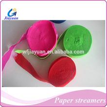 flame retardant ribbons paper streamer celebration party