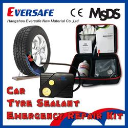 Hand repair puncture car tire sealer and inflator