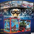 Nueva moda! Loco entretenimiento 3d simulador de máquina de juegos electrónicos para los niños con el mejor precio y PLC tecnología