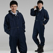 High quality 100% cotton cheap Men's Long Sleeve oil and gas workwear