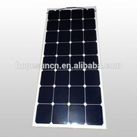 High efficiency flexible solar panel 100W sunpower panels solar pv module