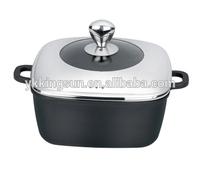 die cast aluminum combined lid cookware