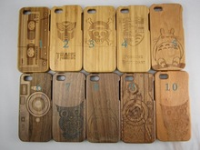 High quanlity custom real wooden phone cases, cover for iphone 5,5s,6