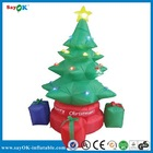 Small Inflatable Christmas tree with gifts/Gifts inflatable Christmas tree for promotion