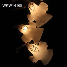Battery operated Halloween deco ghost string lights
