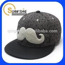 high quality cotton caps baby snapback cap