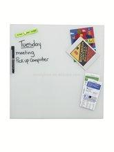 Better Houseware Glass Magnetic memo board, small white 35x35cm
