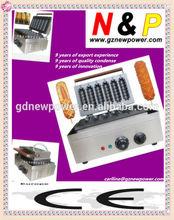 Muffin hot dog machine 6 stickers/wafer maker/waffle machine/waffle making machine/waffle baker/waffle baking machine
