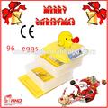 2014 più caldo di vendita ce approvato completamente automatico 96 uova fresche uova di quaglia in vendita