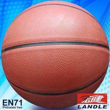 professional match good quality PU leather basketball factory