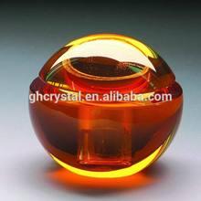 Fashion Pretty Design Apple Crystal Car Perfume Bottle