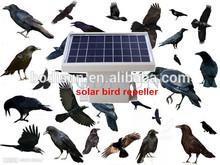 solar ultrasonic bird repeller/ scarer bird for tower/ house/ open air