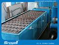 nível superior quente venda comercial de gelo do bloco que faz a máquina de utilização no processamento de alimentos manual bloco que faz a máquina