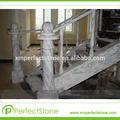 scale di marmo soglia di marmo della porta decorare arabescato marmo bianco