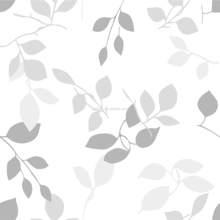 2014 newest European printed summer leaf PEVA shower curtains