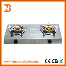 Wholesale Indian stainless steel gas stove 2 burner