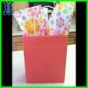 Yiwu 2015 New Arrived elegant handmade pink plain Kraft gift bag Mini custom printed paper bags