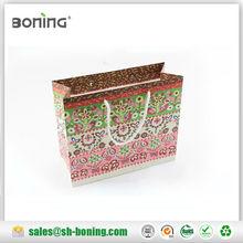 Small adorable floral printing paper bag