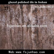 Elegant Artistic Design Glossy Marble Glazed Polished Ceramic Floor Tile