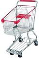estilo europeu usado carrinhos de compras de venda para o supermercado