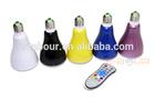 E27 Wireless led light bluetooth speaker bulb ebour013