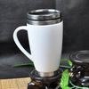 stainless steel vaccum flask custom printed thermo mug