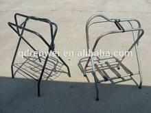 English saddle rack folding English saddle rack tubular steel English saddle rack,powder coate